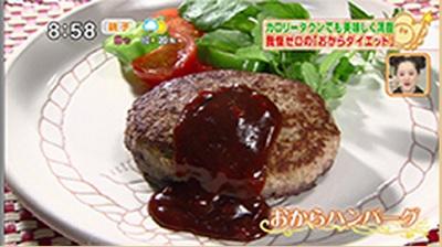 おからダイエット レシピ おからハンバーグ.jpg