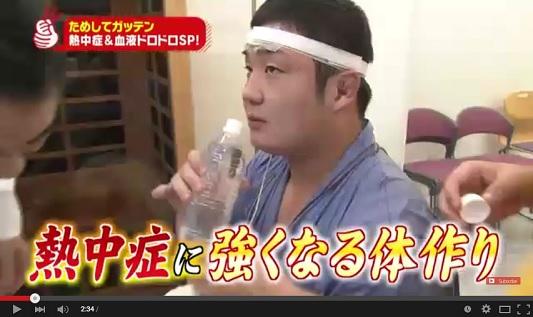 ためしてガッテン 7月15日 熱中症に強い体を作る! 動画 .jpg